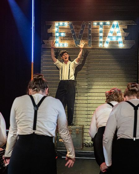 Worle Operatic and Dramatic Society performed Evita at Weston's Blakehay Theatre. Picture: Stewart M