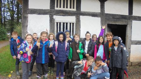 Pupils from St Francis Primary School visit St Fagans.