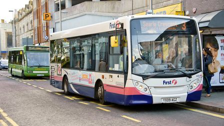 First are offering free bus travel to members of the armed forces on Remembrance Day