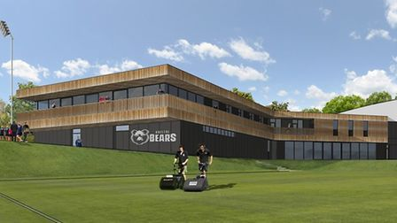 An artist's impression of the training complex. Picture: Bristol Bears
