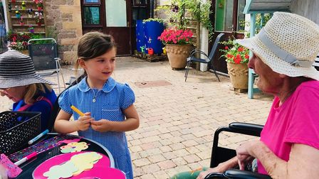 The visits have had a positive impact on the pupils and residents.