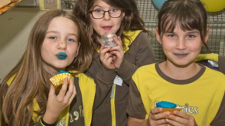 3rd Weston brownies celebrating 100th birthday with party for brownies and leaders. Picture: MARK