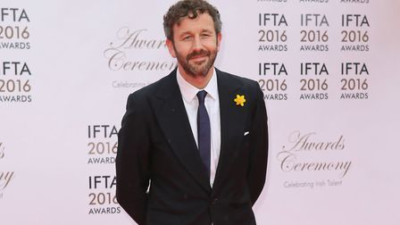 Chris O'Dowd at the IFTA Irish Film and Drama awards. Photograph: Niall Carson/PA.