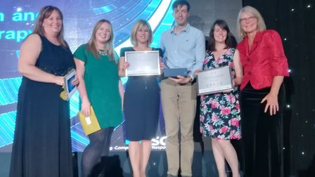 Winners and runners-up of NSCPs Quality and Patient Safety Award.Picture: NSCP