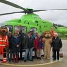Clevedon Lions visited Great Western Air Ambulance Charity. Picture: Clevedon Lions