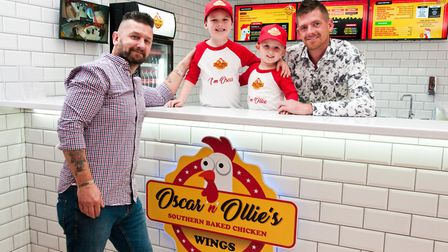 Steve Fowell opening new baked chicken restaurant named after his grandsons Oscar and Ollie. Pict