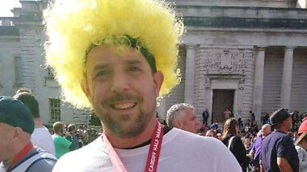 Rob is completing a year of fundraising for the Cystic Fibrosis Trust.