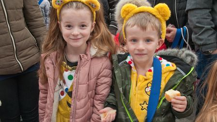Haywood Village Academy after school cake sale fund raiser for Children in Need. Picture: MARK AT