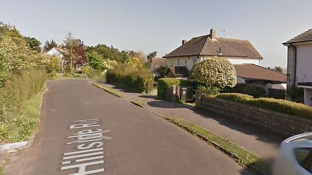 A body was found following a house fire in Bleadon yesterday morning (Thursday). Picture: Google