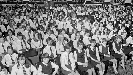 Part of the audience at Winterstoke Secondary Girls school annual prizegiving. Picture: WESTON M