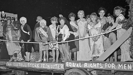 """""""Miss World"""" by Birnbeck Scout Group at Weston's Winter Carnival. Picture: WESTON MERCURY"""