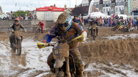 Perfect riding conditions for competing at Weston Beach Race in October.Picture: Terry Kelly