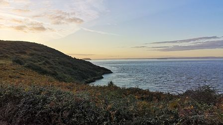 Picturesque views at Brean Down.Picture: Ruth Mountstephens