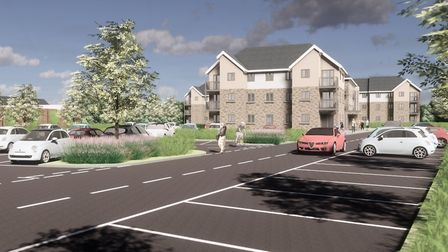 The proposed development near Tescos in Clevedon. Picture: McCarthy and Stone