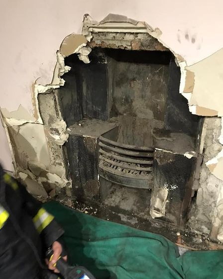 The fire caused 30 per cent damage to the bedroom.