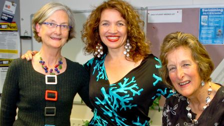 (click on image for larger view)Churchill Music charity concert with Jacqui Dankworth and Ursula Dor