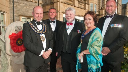 An armed forces charity dinner night at Somerset Legion House. Picture: MARK ATHERTON