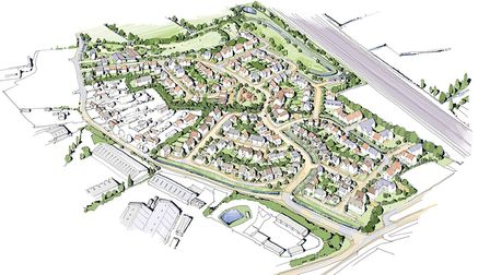 Plans for 248 homes at Isleport Lane in Highbridge have been given the go-aheadPicture: Bickenhall C