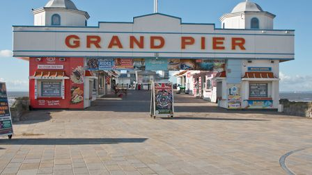 Weston's Grand Pier will host its armed forced weekend from Saturday.