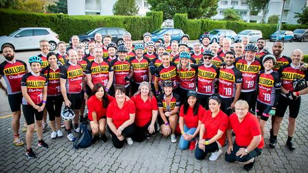 Riders take on Mallorca challenge to raise money for Bristol-based charity