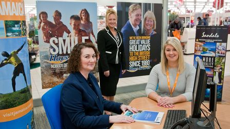 Hays travel opening in Sainsburys at Worle. Picture: MARK ATHERTON