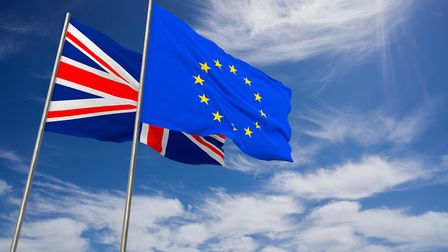 Brexit flags. Picture: Getty Images