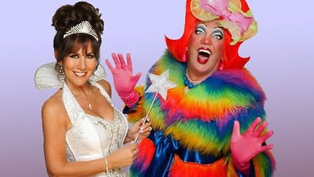 Linda Lusardi and Sam Kane will star in Cinderella. Picture: Playhouse Theatre