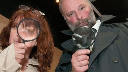Spying a detectoring activities at the Artspace, High Street, Weston, for Terrestrial Festival.