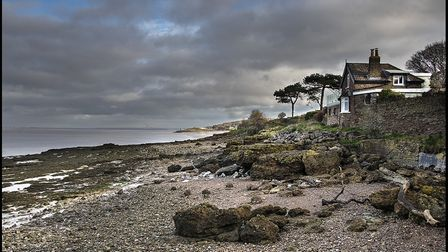 A striking view of North Somerset coastline near Black Nore Lighthouse in Portishead.Picture: Alan H