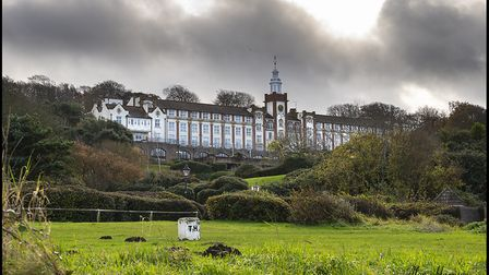 The former National Nautical School in Portishead.Picture: Alan Harrison