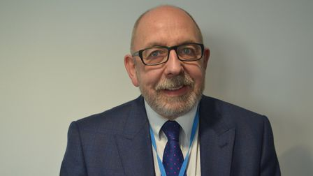 Chair of the provider locality, Dr John Heather. Picture: Eleanor Young