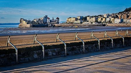 Beautiful views of Weston graced by autumnal sunshine.Picture: Derek Hitchins