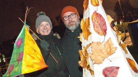 Bournville Catch The Light lantern parade. Picture: MARK ATHERTON