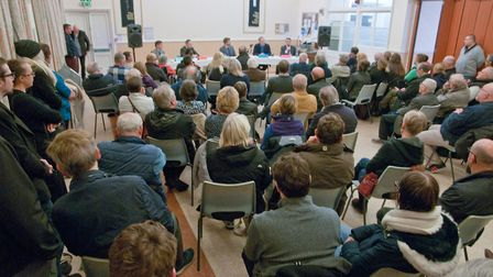 NHS hustings at Victoria Methodist Church. Picture: MARK ATHERTON