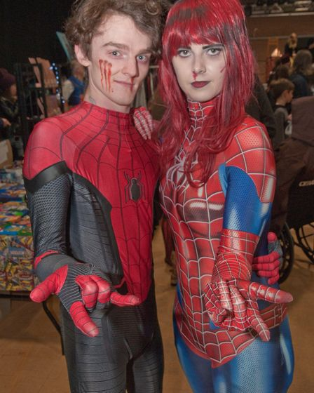 Stars Of Time Film And Comic Con at The Tropicana.Picture: MARK ATHERTON