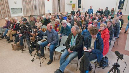 Climate and ecological emergency hustings at Victoria Methodist Church. Picture: MARK ATHERTON