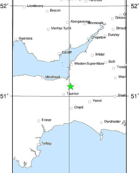 Earthquake recorded in Somerset