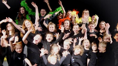 Students from MultiStory Drama Academy gave their first performance at Gordano School over the week