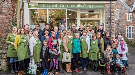 Draycott Community Shop reopened on November 30.Picture: Jo Connor