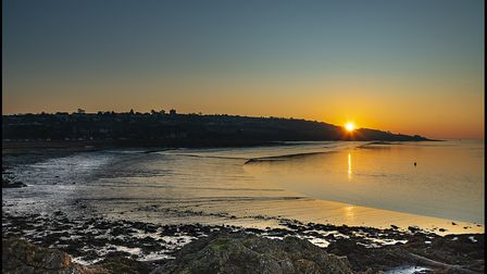 An early December sunset in Portishead. Picture: Alan Harrison