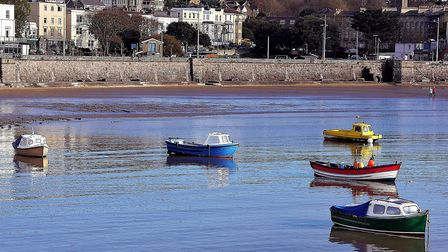 Boats sail towards Knightstone Island. Picture: Terry Kelly