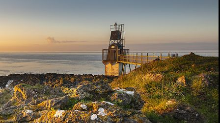 A peaceful view looking towards Battery Point. Picture: Alan Harrison