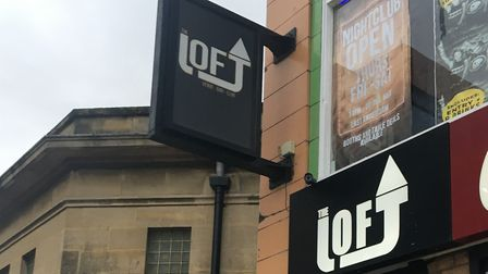 The incident occured at The Loft nightclub. Picture: Henry Woodsford