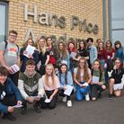 Hans Price Academy School GCSE results. Picture: MARK ATHERTON