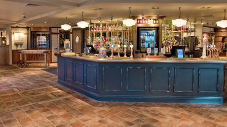 Preview of the Landing Light pub after its refurbishment. Picture: MARK ATHERTON