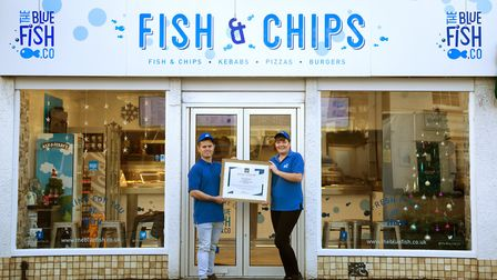 This fish and chip shop has demonstrated exceptional levels of food quality, service and value. Pict