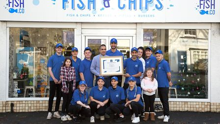 Blue Fish can also deliver takeaway meals from its Worle shop thanks to the special product packagin