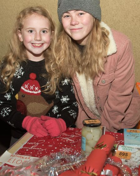 Congresbury Brownies at the Broad Street Christmas Fair. Picture: MARK ATHERTON