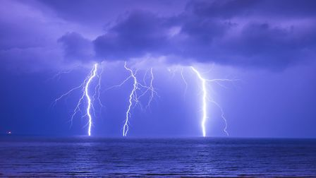 Rain and thunder predicted for North Somerset.
