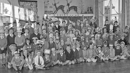 Windwhistle School pupils at their Christmas party. Picture: WESTON MERCURY